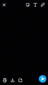 snapchat foto gemaakt scherm