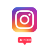 Instagram volgers kopen icoon