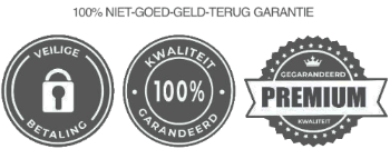 Safe payment 100% quality trust badge
