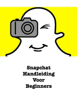 Snapchat Handleiding cover afbeelding