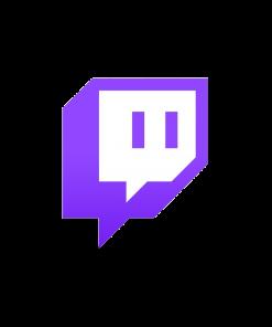 Twitch logo voor volgers en views kopen