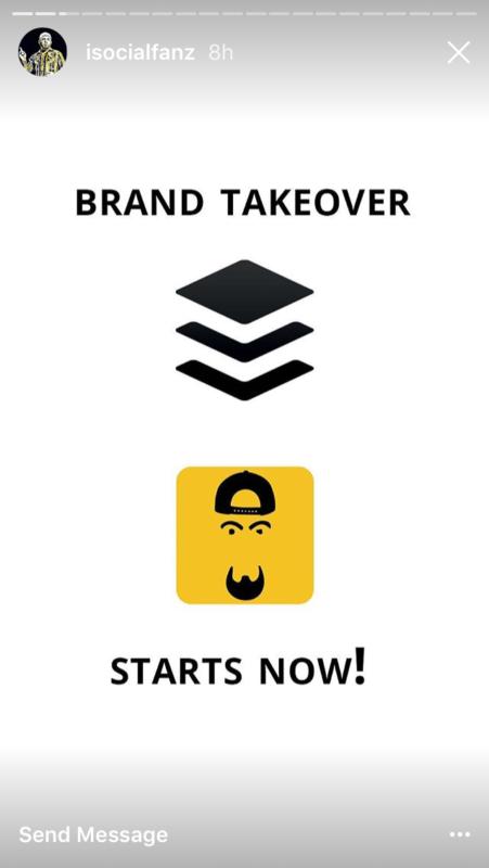 Voorbeeld Instagram account takeover